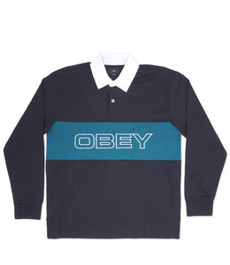OBEY IGNITE CLASSIC LONG SLEEVE POLO