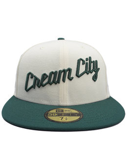 NEW ERA BUCKS CREAM CITY 59FIFTY FITTED HAT