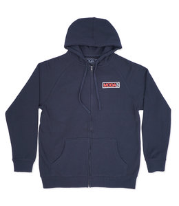 MODA3 BOX LOGO ZIP-UP HOODIE