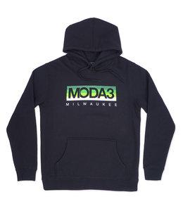 MODA3 BOX LOGO PULLOVER HOODIE