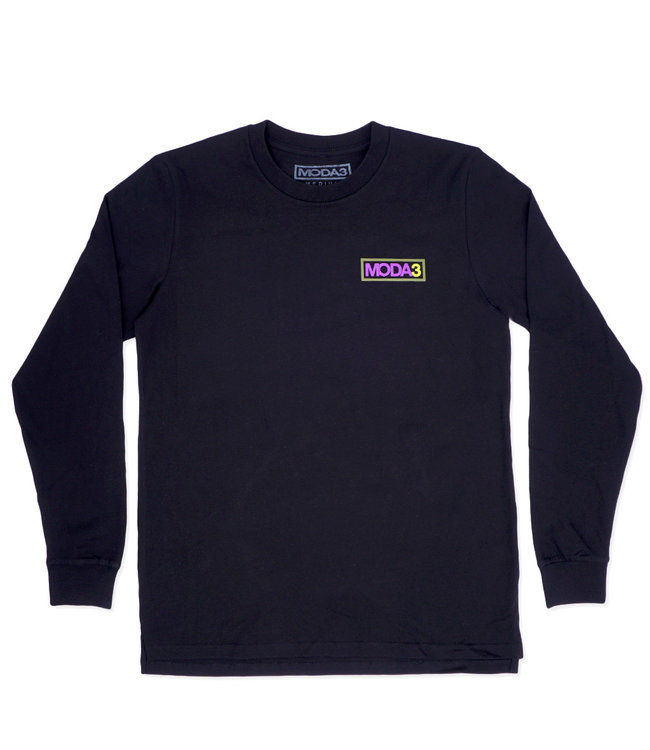 MODA3 Box Outline Long Sleeve Tee