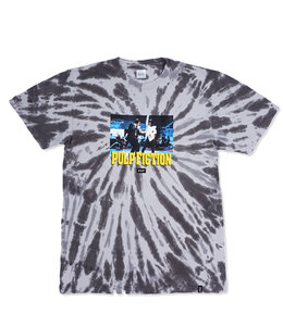 HUF X PULP FICTION DANCE SCENE TIE DYE TEE