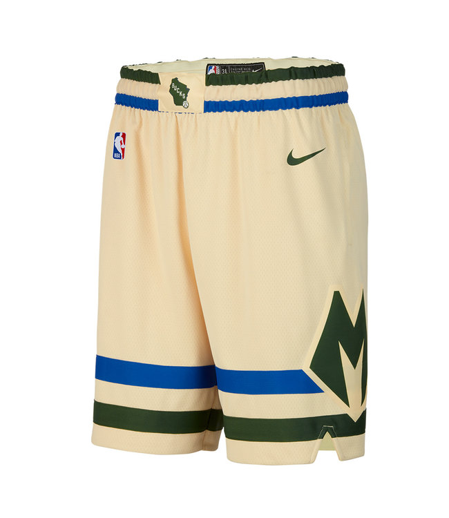 NIKE Bucks City Edition Swingman Shorts