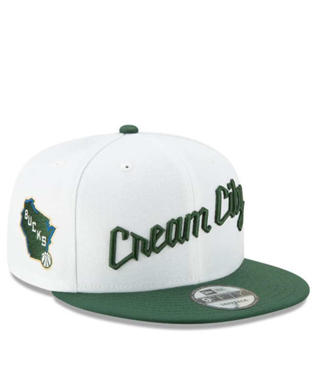 NEW ERA Bucks Holiday City Edition 9Fifty Snapback Hat
