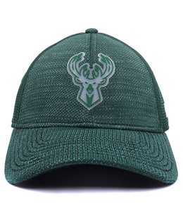 NEW ERA BUCKS ON COURT 39THIRTY STRETCH FIT HAT