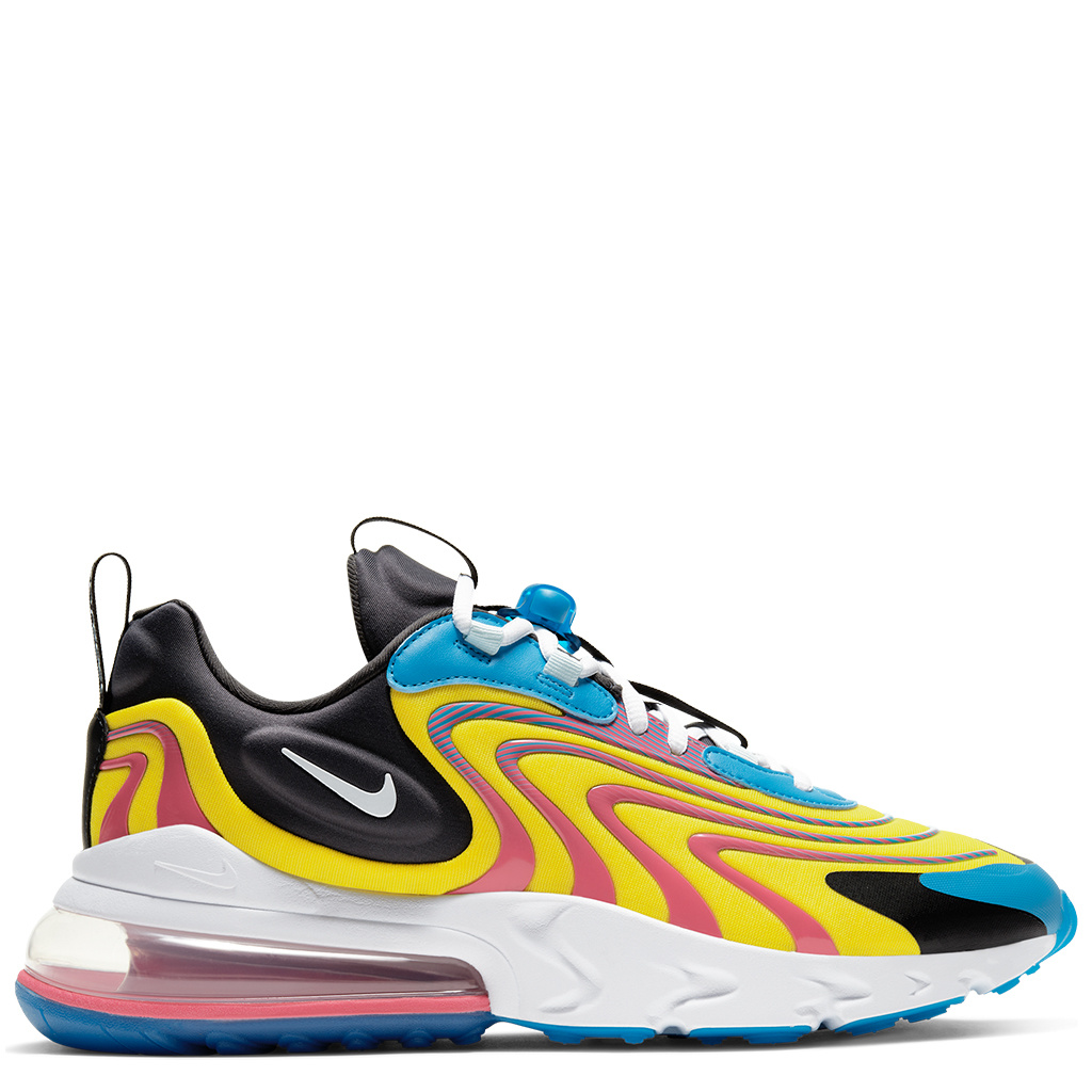 Nike Air Max 270 React ENG Shoes - Laser Blue/Anthracite/Watermelon