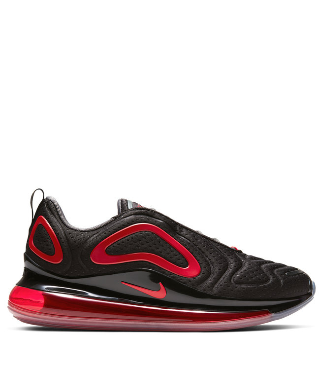 Nike Air Max 720 Shoes Black Black White University Red Moda3