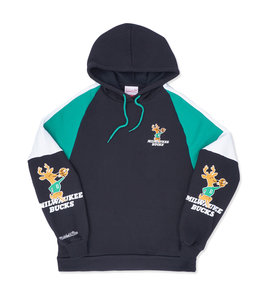 MITCHELL AND NESS BUCKS INSTANT REPLAY HOODIE