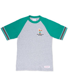 MITCHELL AND NESS BUCKS TEAM CAPTAIN TEE