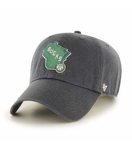 '47 BRAND BUCKS STATE LOGO CLEAN UP HAT