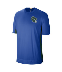 NIKE BUCKS CITY EDITION SS SHOOTING SHIRT