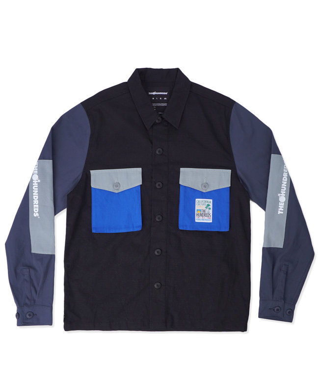 THE HUNDREDS Highpoint Button-Up Shirt