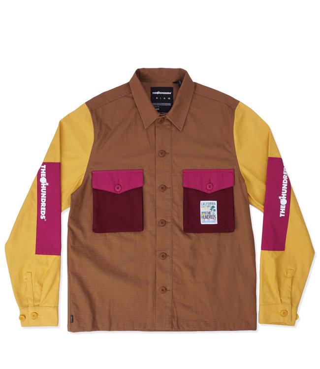 THE HUNDREDS Highpoint Button-Up Shirt