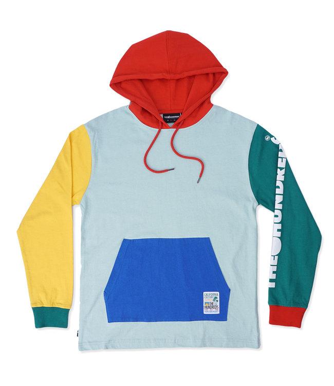 THE HUNDREDS Crane Hooded Long Sleeve Shirt