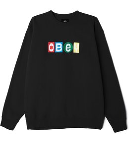 OBEY BIG SHOTS CREWNECK