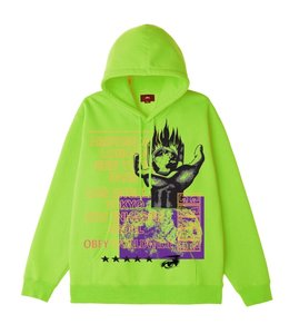 OBEY OUR PLANET PULLOVER HOOD