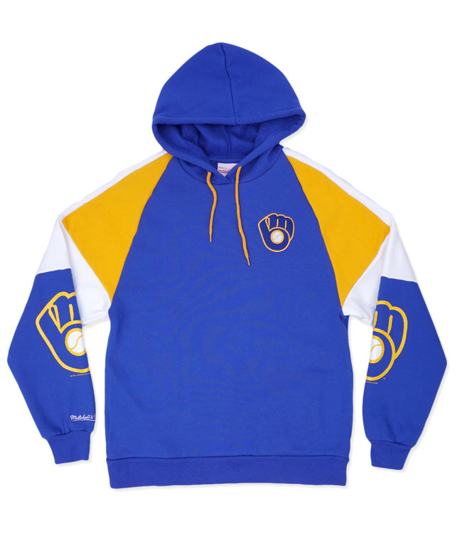 MITCHELL AND NESS Brewers Instant Replay Hoodie