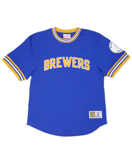 MITCHELL AND NESS BREWERS WILD PITCH TOP