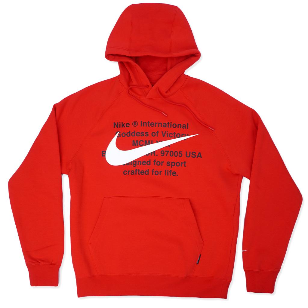 nike multiple swoosh hoodie