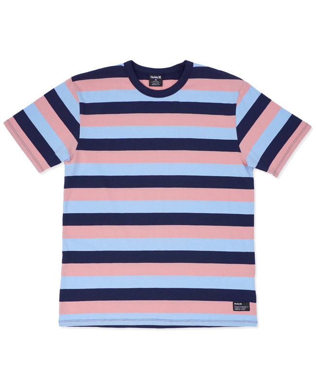 HURLEY Dri-FIT Harvey Stripe Patch Tee