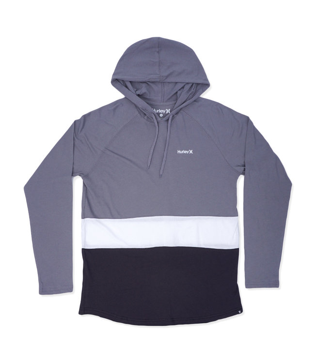 HURLEY Premium Hot Block Hooded Long Sleeve