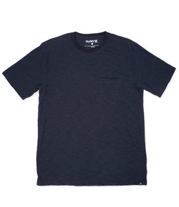 HURLEY MICRO STRIPE POCKET TEE