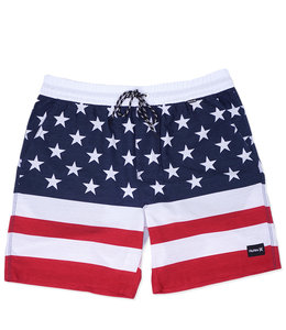 "HURLEY PATRIOT VOLLEY 18"" BOARDSHORT"