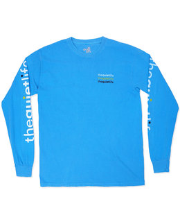 THE QUIET LIFE ORIGIN PIGMENT DYE LONG SLEEVE TEE