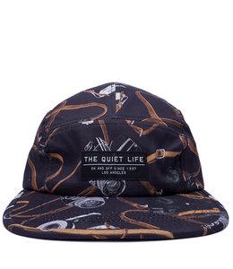 THE QUIET LIFE CAMERA STRAP 5 PANEL CAMPER HAT