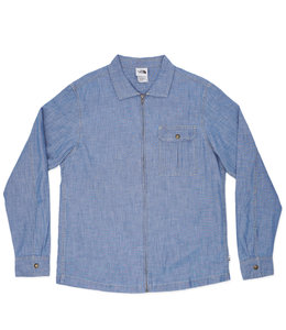 THE NORTH FACE BERKELEY ZIP CHAMBRAY SHIRT
