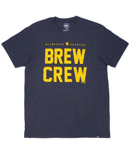 '47 BRAND BREWERS BREW CREW CLUB TEE