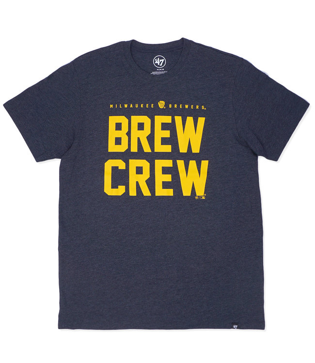 '47 BRAND Brewers Brew Crew Club Tee