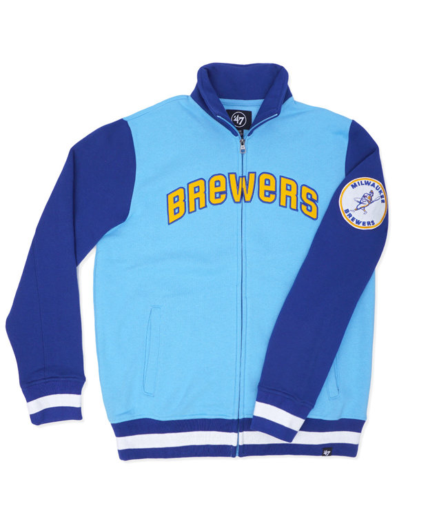 '47 BRAND Brewers Heritage Iconic Track Jacket