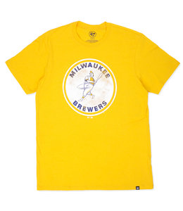 '47 BRAND BREWERS THROWBACK CLUB TEE