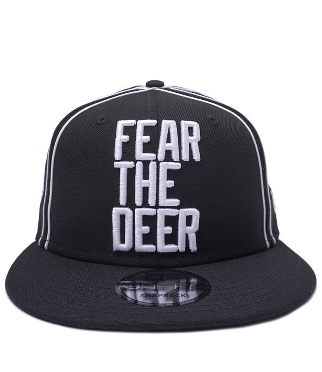 NEW ERA Bucks Fear The Deer Snapback Hat