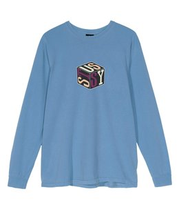STUSSY CUBE LONG SLEEVE TEE
