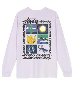STUSSY HIGH DESERT LONG SLEEVE TEE