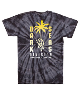 DARK SEAS ILLUSION TIE DYE TEE