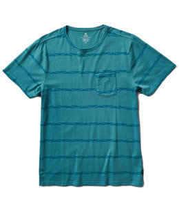 ROARK WELL WORN PRINTED POCKET TEE