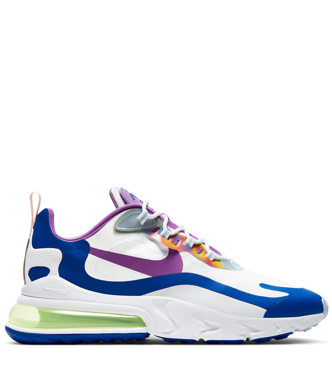 Nike Air Max 270 React Easter White Washed Coral Hyper Blue