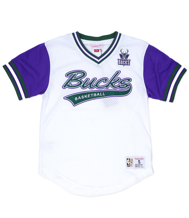 MITCHELL AND NESS Bucks Top Prospect Mesh V-Neck