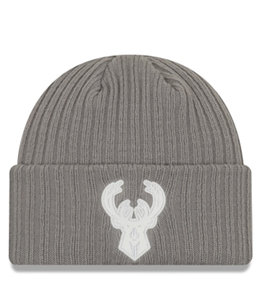 NEW ERA BUCKS BACK HALF KNIT BEANIE