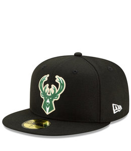 NEW ERA BUCKS BACK HALF 59FIFTY FITTED HAT