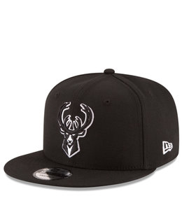 NEW ERA BUCKS BASIC 9FIFTY SNAPBACK HAT