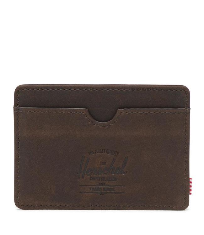 HERSCHEL SUPPLY CO. Charlie Leather Wallet