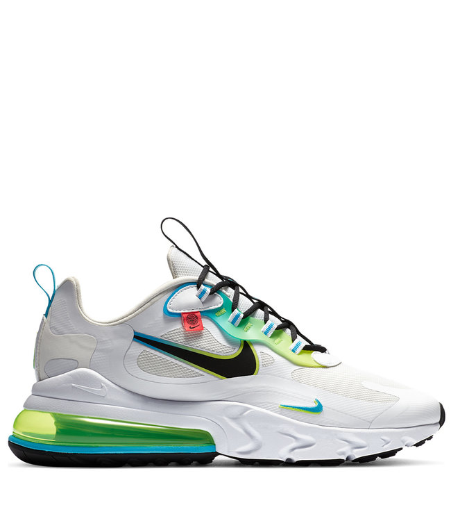Nike Air Max 270 React Se Worldwide Pack White Blue Fury Volt
