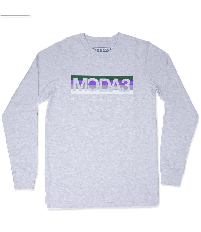 MODA3 Box Fill Logo Sleeve Tee