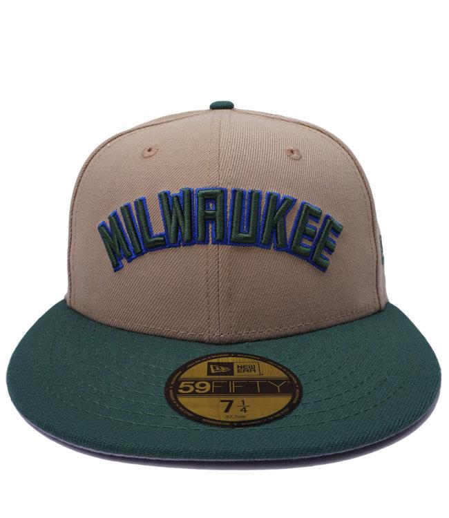 NEW ERA Bucks Milwaukee 59Fifty Fitted Hat