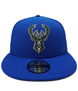 NEW ERA BUCKS PRIMARY LOGO 9FIFTY SNAPBACK HAT