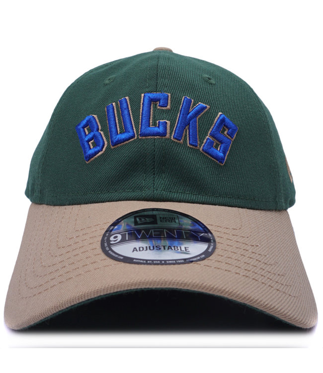 NEW ERA Bucks Wordmark 9Twenty Adjustable Hat